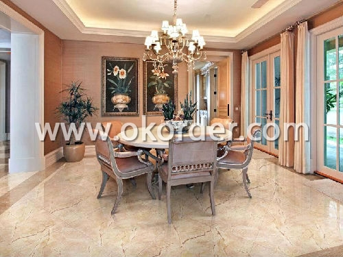 Application of Glazed porcelain tile