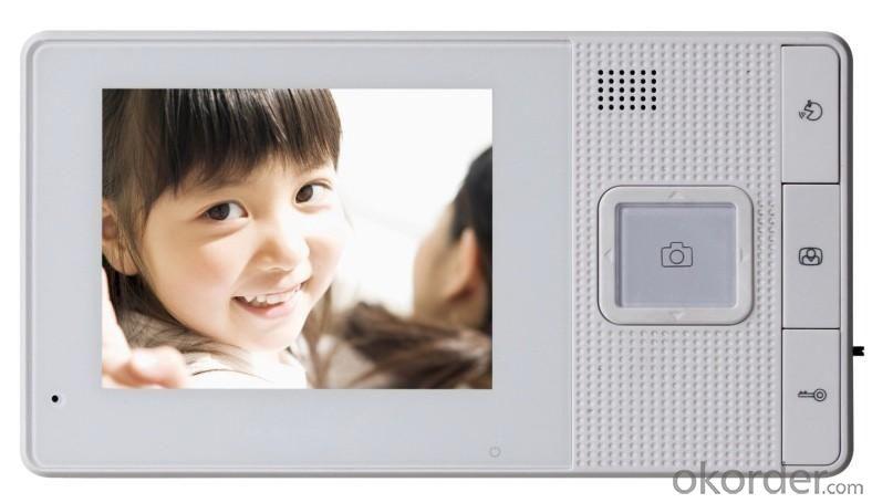 4inch 2.4G Wireless Video Doorphone,CMOS camera,Hot sale
