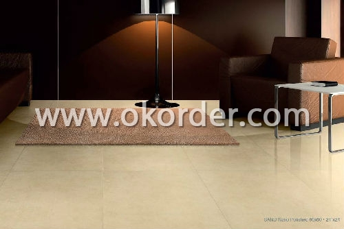 Application of polished tile
