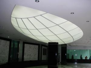 Attractive Bathroom PVC Ceiling Stretch Ceiling Plastic Panels For Walls
