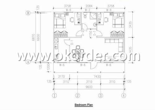 modular homes ZA layout plan