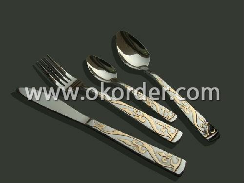 Best Seller 24pcs Stainless Steel Flatware Set