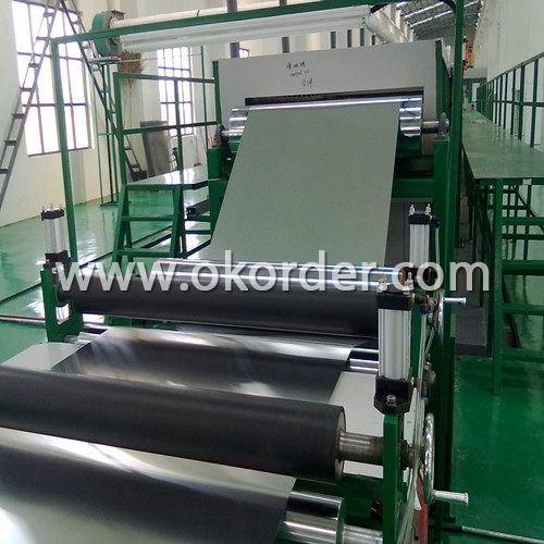 Machine of Fabrication of Aluminum Coil