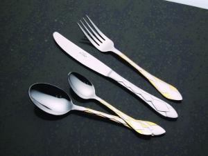 24 Pcs Stainless Steel Flatware