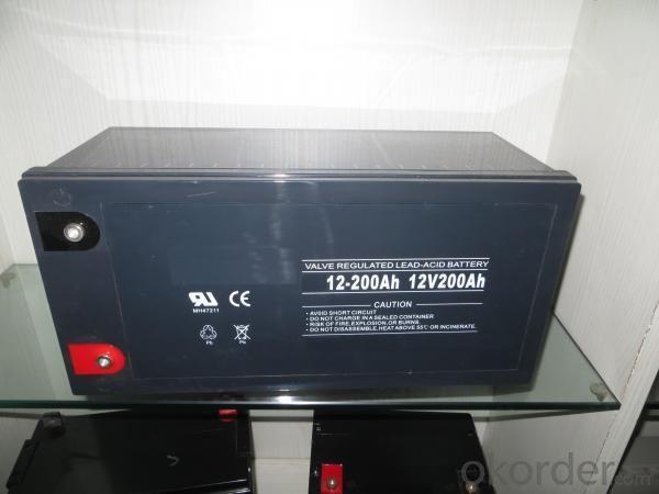 Valve Regulated Lead Acid Battery 12V/200Ah