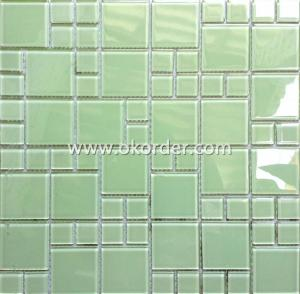 Glass Mosaic Light Green SUNO26604