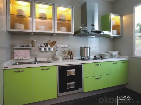 PVC Kitchen Cabinet CC04