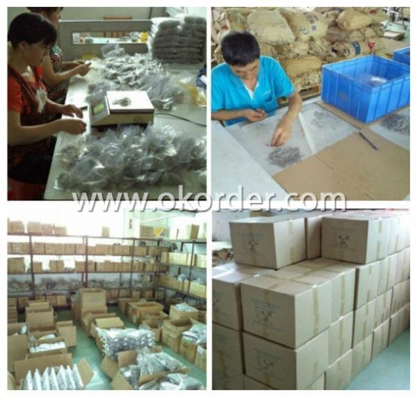 Our packaging workshop of tension springs