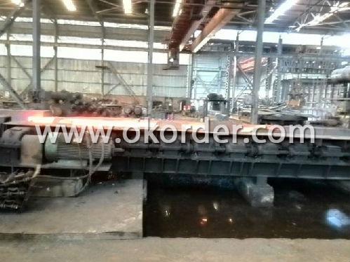 Production Flow of U Channel Steel