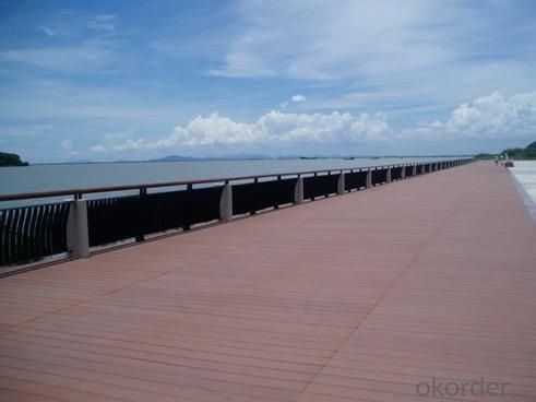 Wood Plastic Composite Decking CMAX S147H17