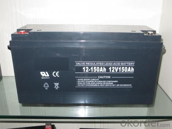 Valve Regulated Lead Acid Battery 12V/150Ah