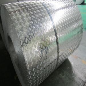 Diamond Embossed coated Aluminium Coil