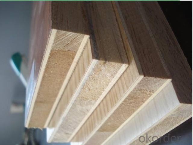 High Quality  Bingtangor/Pine Face And Back Poplar Core Blockboard