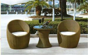 Nature Rattan Rotary Chair