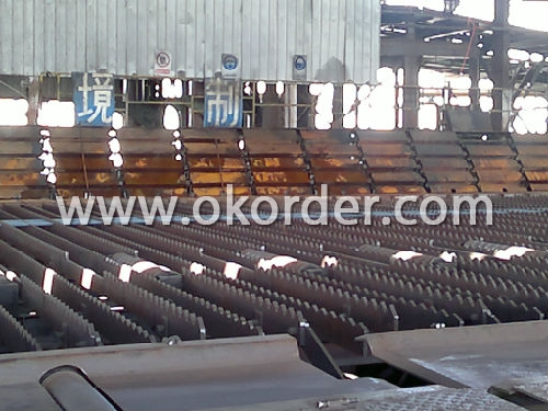 Deformed Steel Bar in factory