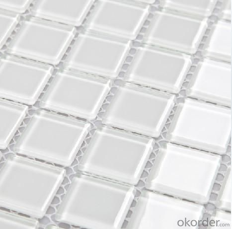 Glass Mosaic Pure White CMAX6500