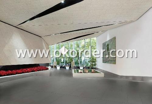 Application of  Glazed tile