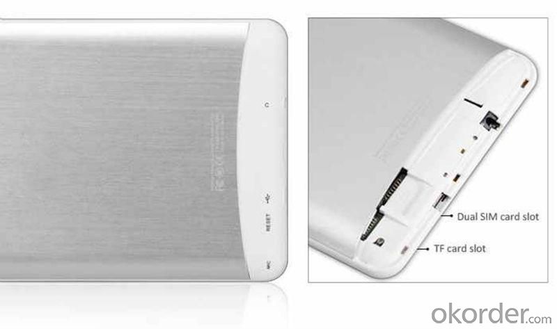 Hot Sale Tablet PC with Dual SIM 2G/3G, GPS,Bluetooth, Dual Camera Android 4.2