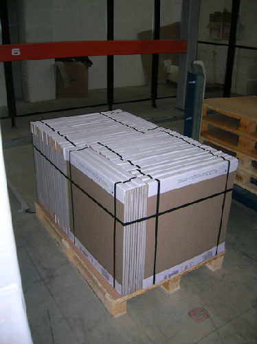 Packing of tile