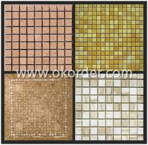 Glass Mosaic Light Beige CH38A16