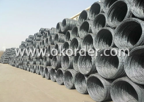 Steel Rebars in coil