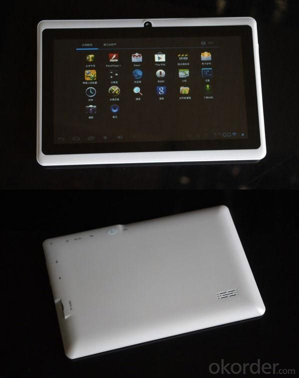 7 Inch 512M/4G ​Android 4.0 Tablet PC A13 Tablet PC Q88