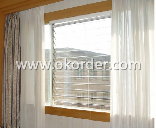 louver glass for windows