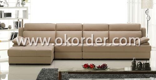 Modern Furniture Set Of Leather Sofa