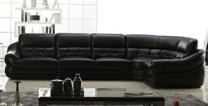 Living Room Sofa Set Leather Style