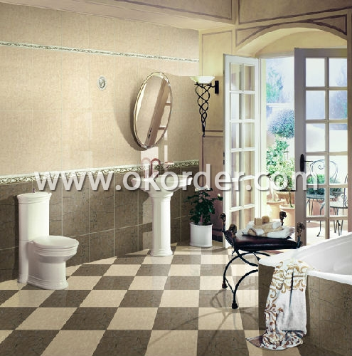 Porecelain Tiles Chocoalte Color