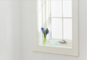 Plastic Window for Domestic Room