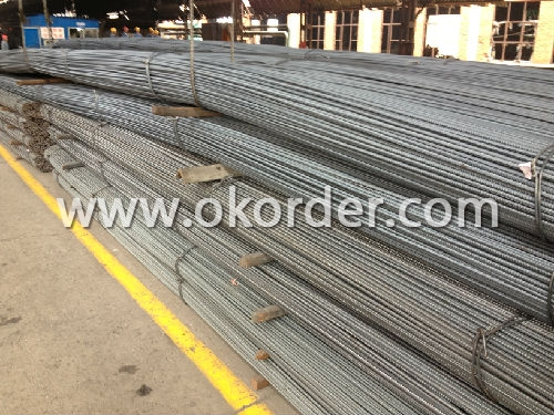 Steel Rebar in stock