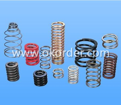 Compression Spring with Zinc, Tin, Nickel