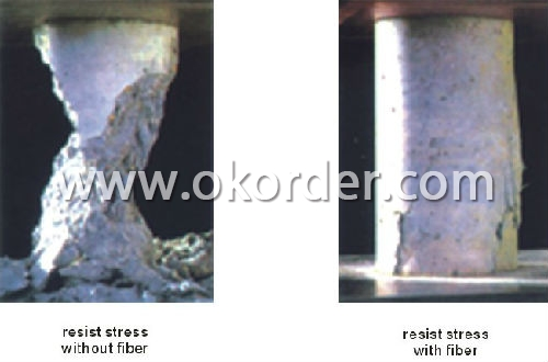 Application of dispersed Fiberglass Chopped Strands