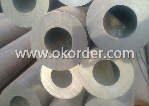 High Pressure Gas Cylinder Seamless Steel Pipe