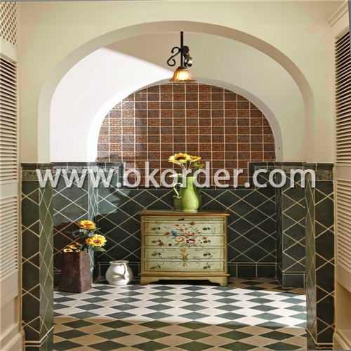 glazed tile