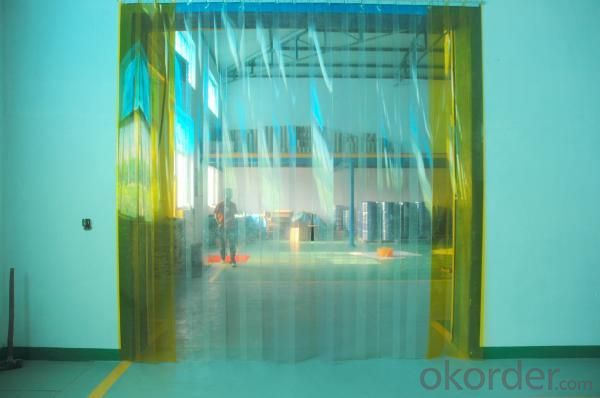 PVC Strip Door Curtain Used for Warehouse