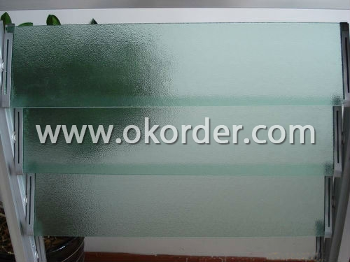 3-8mm louver glass