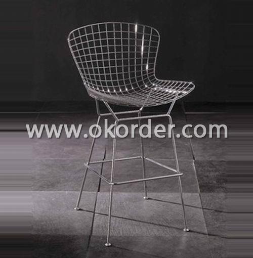 Wire mesh bar chair