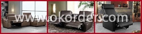 Living Room Sofa Set Leather Style