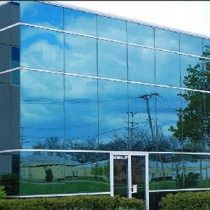 AR glass for glass curtain walls, building, decoration, etc.