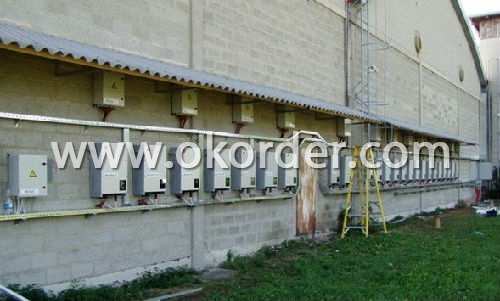 Grid Tied Solar Inverter 3-Phase CNBM-2000UE