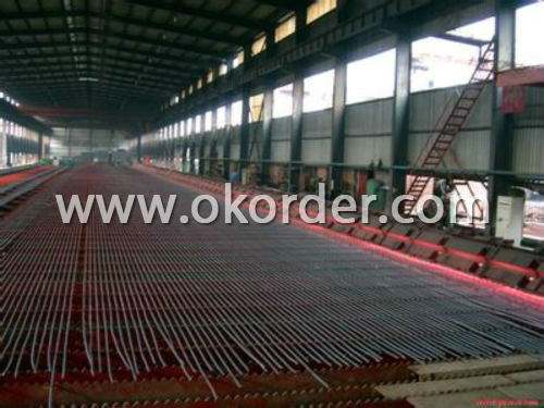Deformed Steel Rebar in factory
