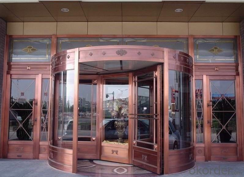 Metal Door Automatically Opened