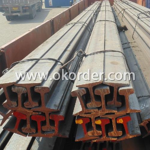steel rails delivered