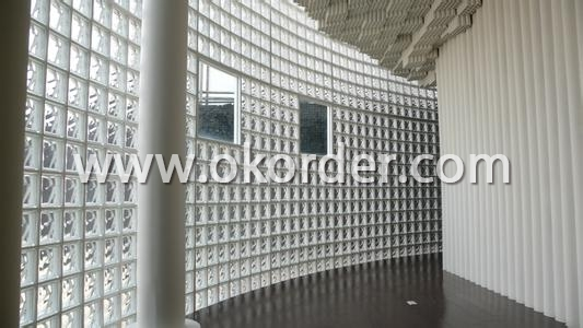 Glass Block Lattice