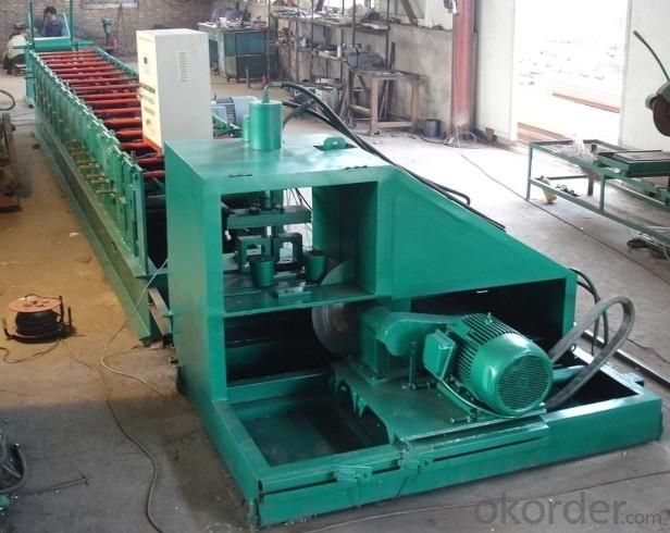 Z -Section Forming Machine