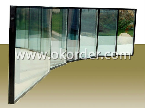 reflective glass for partions, decorations, etc.