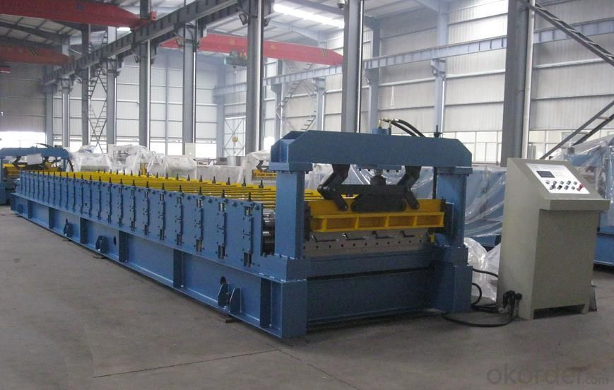 Wall Panel Forming Machine