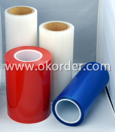 Transparent Color PE Protective Film W30-50T